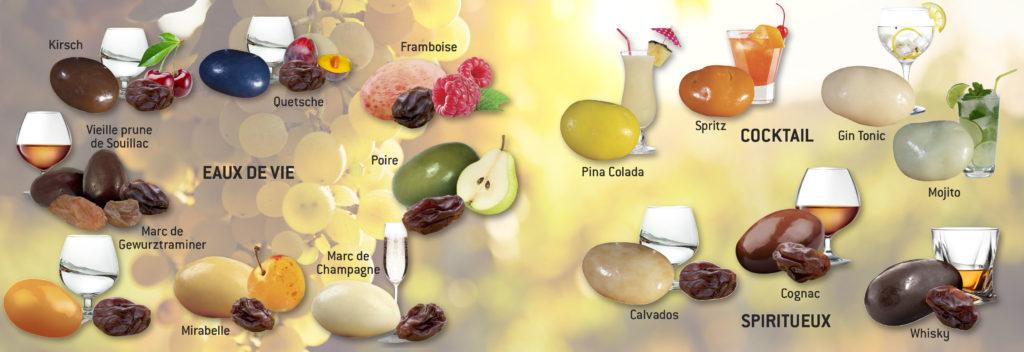 Raisins macérés